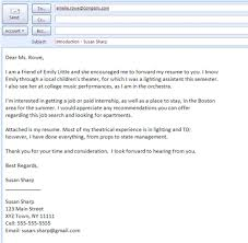 Format To Send Resume Email To Send Resume Resume Badak