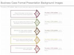 business case format presentation background images powerpoint