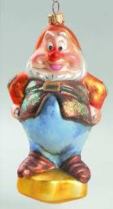 christopher radko snow white seven dwarfs ornament at