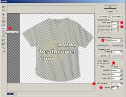 reset liquify tool photoshop liquify logo effect on t shirt