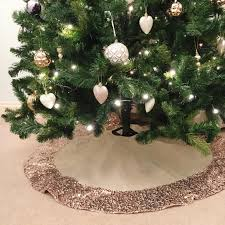 Decoration For Christmas Tree by Creative Ideas For Christmas Tree Skirts Southern Living