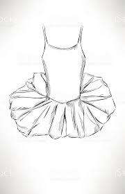 ballet dress sketch stock vector art 522354339 istock