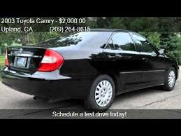 2003 toyota camry xle for sale 2003 toyota camry xle for sale in upland ca 91786 at owner