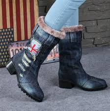 womens denim boots uk compare prices on denim boots shopping buy low price
