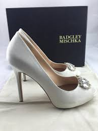 wedding shoes pumps badgley mischka ivory alter ii pumps size us 8 5 regular m b