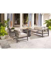 Aluminum Coffee Table Aruba White Aluminum Coffee Table Created For Macy S Furniture