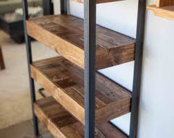 How To Make A Bookshelf Out Of A Pallet Bookshelf Etsy