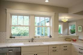 kitchen tile backsplash around window home decorating ideas