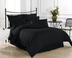 all black bedding all black bedding sets queen spillo caves best black and white striped bedding with gold heart bedroom