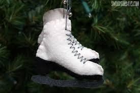 free felt ice skate ornament pattern swoodson says