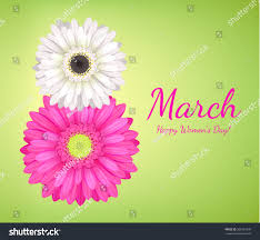 flowers international 8 march womens day background greeting stock vector 585061939