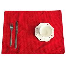 compare prices on dining table placemats red online shopping buy