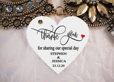 wedding gift tags thank you tags ebay