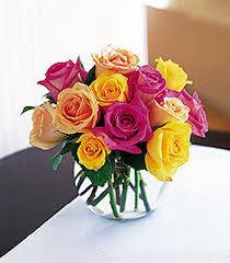 colored roses springtime roses easter flowers woyshners flower shop