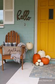 Fall Decorations For Outside The Home 25 Best Fall Apartment Decor Ideas On Pinterest Fall Home Decor