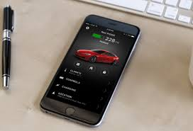 android model android and iphone app tesla