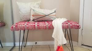 diy hairpin legs bench u2013 my blessed nest