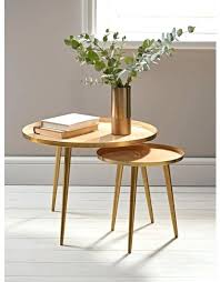 Round Dark Wood Coffee Table - side table small round side table with drawer small round wooden
