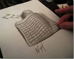 anamorphic 3d drawings sleeping dump a day