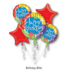 helium balloon delivery in selangor happy birthday blitz balloon bouquet 5pc from category birthday