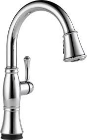 delta faucet 9197t dst cassidy single handle pull down kitchen