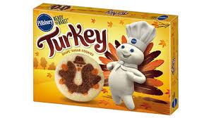 pillsbury shape turkey sugar cookies pillsbury