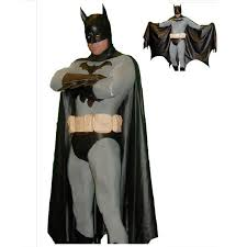 Figured Halloween Costumes Aliexpress Buy Black Batman Costume Men Cosplay