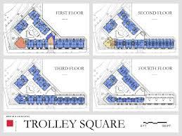 Map Of Cambridge Ma Trolley Square Design Advisor