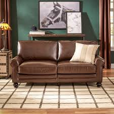 leather sofa magnificent italian leather sofa small couch for