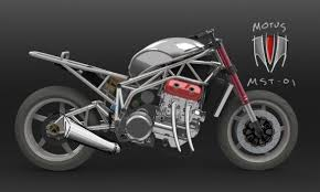 motorcycle with corvette engine motus mst 01 uses car engine mcn