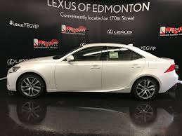 lexus 2017 new 2017 lexus is 300 standard package 4 door car in edmonton