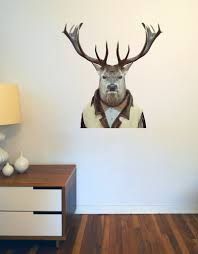 zoo portraits deer wall decal blik zoo portraits deer