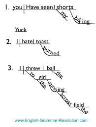 diagramming verbals