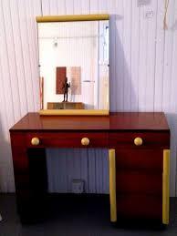 Vanity Desk Mirror Art Deco Vanity Desk And Mirror Gilbert Rohde For Cavalier For