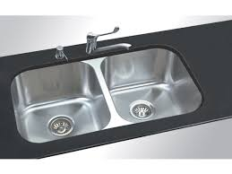 Double Kitchen Sink Large Size Of Kitchen Sink Drain Valve Also - Double bowl undermount kitchen sinks