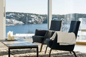 swedish three seater leather sofa by lennart bender for ulferts
