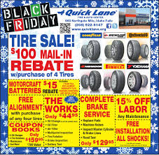 black friday tire deals quick lane tire and auto center
