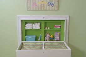 Changing Table Organizer Ideas 13 Clever Space Saving Solutions And Storage Ideas Diy
