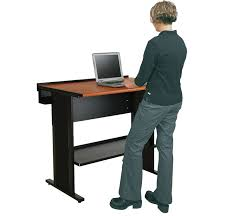 evolution stand up desk computer desks spectrum industries