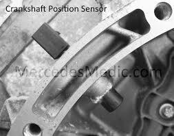 diy crankshaft position sensor benz cranks no start