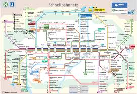 Venice Beach Map Munich Subway Map To Get From Airport To Train Station For Trip