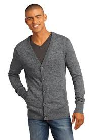 mens cardigan sweater district made mens cardigan sweater dm315 sweater