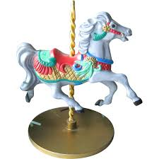 carousel hallmark keepsake ornament