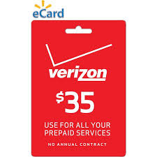 prepaid card for verizon wireless 35 refill prepaid card email delivery