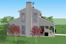 two story barn house color01 jpg
