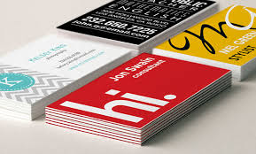 custom business cards make personalized business cards