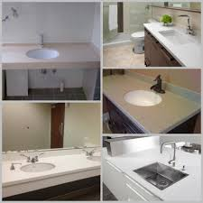 Custom Made Bathroom Vanity Tops by Custom Made Artificial Stone Vanity Top Epoxy Resin Bathroom