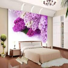amazoncom 3d creative flower wall murals for living room bedroom how to decorate bedroom walls with picture purple bedroom wall decor pinterest bedroom wall