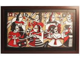 Buy Online Home Decor Buy Rajasthani Phad Wall Painting Online Handicrafts Online