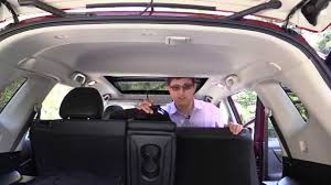 nissan rogue back seat 2014 nissan rogue child seat review youtube